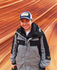 Meghann Kent, Safari Tour Guide, Kanab Tour Guide