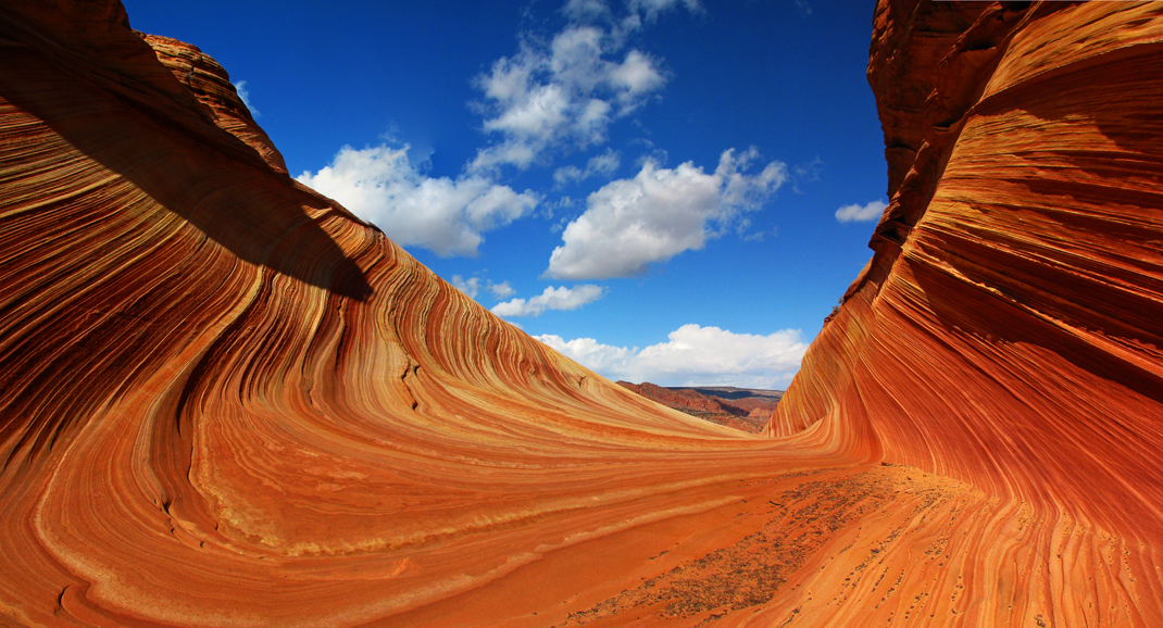 The Wave, North Coyote Buttes, Paria Wilderness, Vermillion Cliffs National Monument