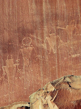 Southern Utah Rock Art Tours, Anasazi Rock Art Tours, Kanab Rock Art Tours
