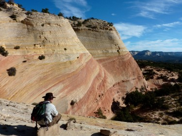 Painted Cliff at White Wave, Kanab Family Tours, Educational Tours