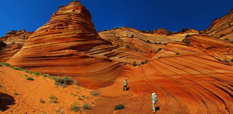 South Coyote Buttes Tour, Paw Hole, Paria Canyon Wilderness